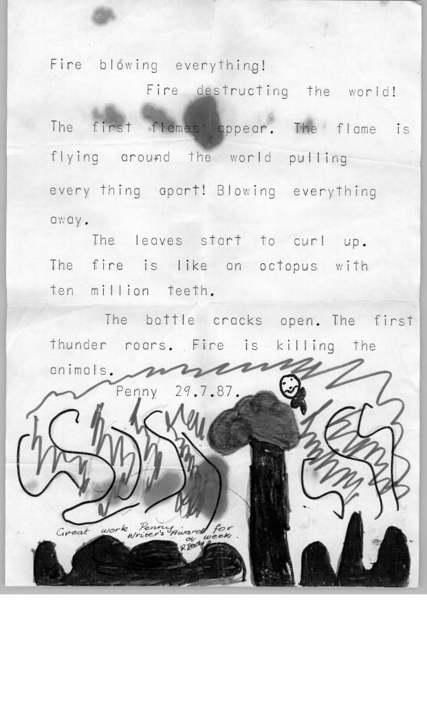 Bushfire story