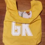 Yellow Goal Keeper netball bib bag