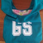Green Goal Shooter netball bib bag
