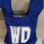 Blue Wing Defence netball bib bag